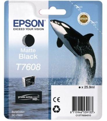 Зображення Картридж Epson SureColor SC-P600 matte black