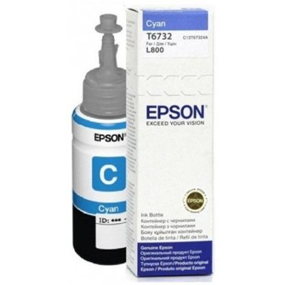 Изображение Контейнер Epson L800 / L805 / L810 / L1800 cyan